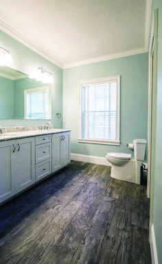 Best Paint Color For Narrow Bathroom