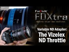 Vizelex ND Throttle Lens Mount Adapter from Fotodiox Pro - Mamiya 645 (M645) Lens to Nikon F-Mount (FX, DX) Mount Cameras (such as D7100, D800, D3) - with Built-In Variable ND Filter (ND2-ND1000)