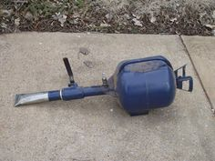 Tire Inflator by graydog111 -- Homemade tire inflator intended to aid in sealing a newly mounted tire to a wheel's bead flange. Fashioned from a propane tank, piping, and a ball valve with a quick disconnect pneumatic fitting. http://www.homemadetools.net/homemade-tire-inflator