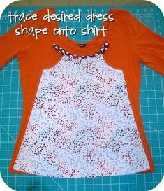 Ruffle dress, Ruffles and Recycling