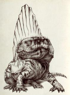 Dimetrodon by AntarcticSpring on DeviantArt