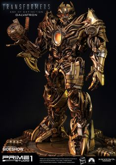 Transformers Galvatron Gold Version Statue by Prime 1 Studio | Sideshow Collectibles