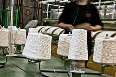 Råhvitt bomullsgarn og Alpacca fra India og Peru #fabrikk Peru, India, Turkey, Goa India, Indie, Indian