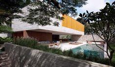 Espectacular Casa Moderna con Diseño libre y Piscina adyacente