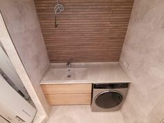 Stacked Washer Dryer, Washer And Dryer, Furniture Ideas, Laundry, Bathtub, Home Appliances, Bathroom, Style, Laundry Room