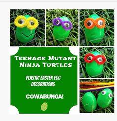 huevos Tortugas Ninja
