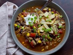 Start a fiesta in just 15 minutes with this hearty taco soup!