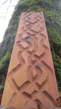 Cedar Marble Run by GreenDragonWoodworks on Etsy, $20.00
