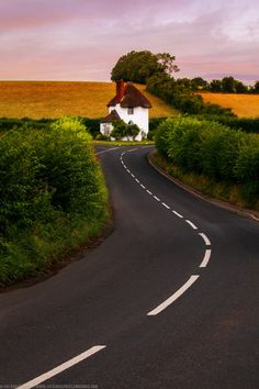 Little Toll House at Stanton Drew, Somerset, Cotswolds, England Beautiful Roads, Beautiful Landscapes, Beautiful Places, Somerset England, England Ireland, England Uk, English Countryside, Pathways, Belle Photo