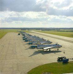 English Electric Lightnings - Royal Air Force (RAF), United Kingdom - RAF Coltishall, Norfolk, 1960s