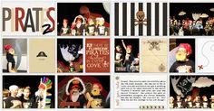 Pirates Disney Project Life Mouse Scrapbook Double Page 2-page layout