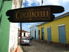 Colourful Trinidad, Cuba, where the local drink is the Canchanchara.
