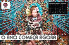 Confira o calendário de moda produzido pelo fotógrafo Tejal Patni. Uma arraso!