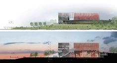 Gallery of Trois-Rivières Amphitheater Competition proposal / ARCHITEM - 10