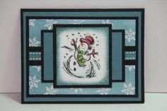 SC143 Jollliest Time of the Year by sn0wflakes - Cards and Paper Crafts at Splitcoaststampers