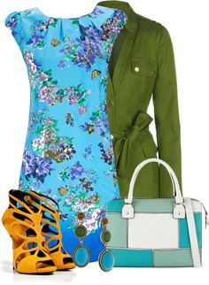"""Eclectic Springtime"" by pantherstyle ❤ liked on Polyvore"