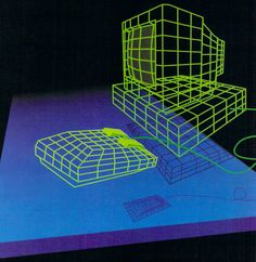 The coolest pictures from the past and future to blow your mind. Light Grid, Internet Art, 80s Aesthetic, Retro Images, Futuristic Art, Wireframe, Retro Art, Grafik Design, Vaporwave
