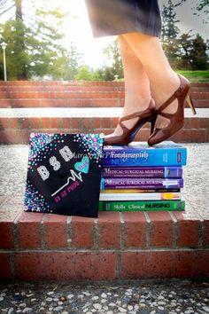 Nursing graduation cap ..@margieo91