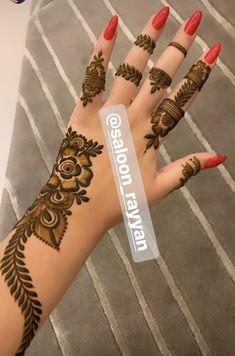 Khafif Mehndi Design, Mehndi Designs Book, Mehndi Designs For Girls, Mehndi Designs For Beginners, Wedding Mehndi Designs, Mehndi Designs For Fingers, Modern Henna Designs, Floral Henna Designs, Arabic Henna Designs