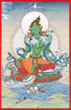 Temple bouddhiste en Asie Art B /& w toile déco art pression