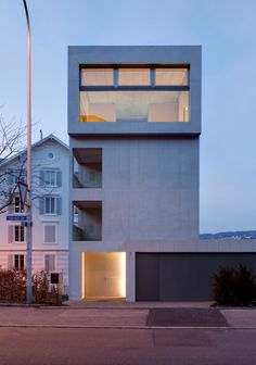 Urbaner wohnturm by mhg architekten