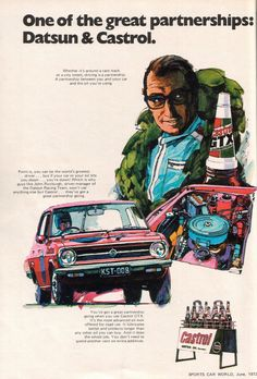 Datsun & Castrol 4Life!