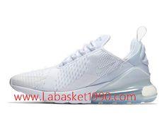 new styles 11721 f5e67 Nike Air Max 270 Chaussures Officiel Prix Pas Cher Pour Homme Blanc AH6789 -102-