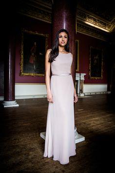 D18 436 Lace Dress, White Dress, Bridesmaids, Bridesmaid Dresses, Color Card, Chiffon, Formal Dresses, Model, Fabric