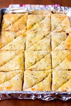 Pepperoni Pizza Triangles