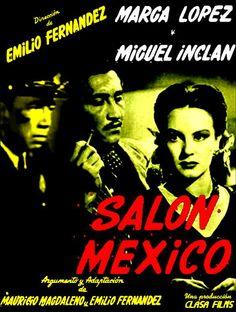 La Zona Cine: Salón México: De cabarets, danzón y crímenes.