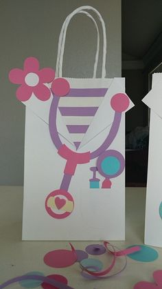 Custom Minnie Mouse Cheer Summit Bags Great for birthday favor