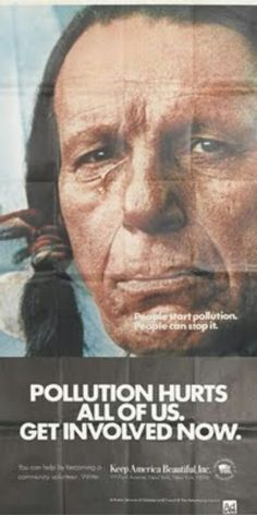 Keep America Beautiful crying Indian commercial 1971