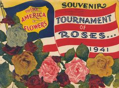1941 Tournament of Roses Souvenir   Flickr - Photo Sharing!
