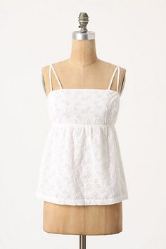 Fun little top to wear when it warms up (especially if you love tennis)!