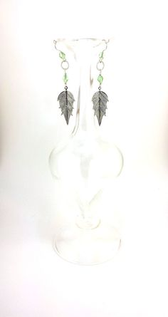 Hey, I found this really awesome Etsy listing at https://www.etsy.com/listing/203987990/metal-mesh-leaf-earrings-fae-inspired