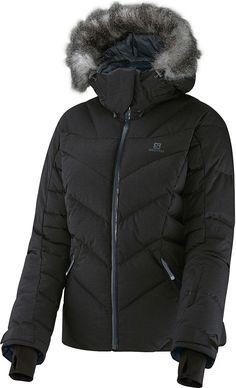 16e8ccc541 Salomon Women s Icetown Down Ski Jacket in artist grey-X