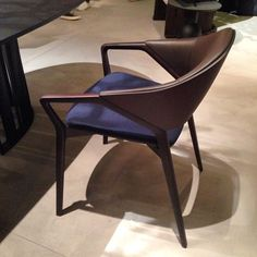 For me.. The best chair of 2016! Great job @cassinaofficial and @ora_ito #Wood #chair #veneer #cassina #company #group #oraito #designer #best #product #furniture #design #story #collection #future #concept #decor #decoration #leather #interior #interiordesign #isaloni #designweek #salonedelmobile #close #pad #nofilter #vscocam #vsco #milan by lucabarengo