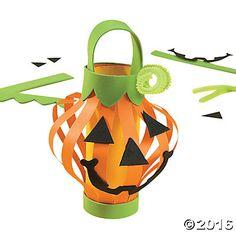 Paper Jack-O'-Lantern Craft Kit