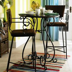 Chesington Bar Table - Black - Home Decor Furniture Ideas