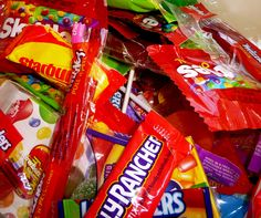 CANDY science experiments (or what to do with all that Halloween candy.)