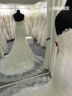 Amaya esküvői ruha by Aire Barcelona Exclusively at La Mariée Budapest bridal esküvői ruha Bridal Dresses, Wedding Gowns, Lace Wedding, Mermaid Wedding, Budapest, Fashion, Rosa Clara, Bride Dresses, Homecoming Dresses Straps