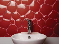 Watercube  Glass mosaic  by Evit