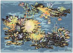 Robert Debieve vintage French tapestry http://nazmiyalantiquerugs.com/detail-image/?image=vintage-french-tapestry-46999-detaillarge-view-2 (detail view)