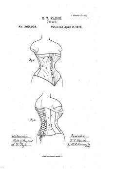 Patent US202038 - Improvement in corsets - 1878 - Google Patents