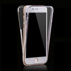 360 Full Case For Iphone 7 7 Plus Cases Protect Transparent Tpu Silicone Flexible Soft Body Protective Case For Apple 6 6s Cover