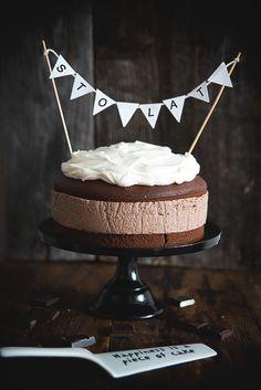 picante-jalapeno.blogspot.com: Tort serowo-czekoladowy: pierwsze urodziny Picante-Jalapeno