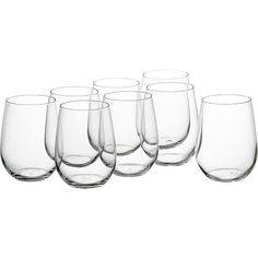 Stemless Wine Glasses   Crate and Barrel