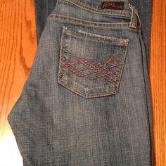 Citizens of Humanity jeans Worn  but in good condition . No stains  or rips . Citizens of Humanity Jeans Flare & Wide Leg