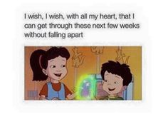 LMAO, Dragon Tales knows how it is!