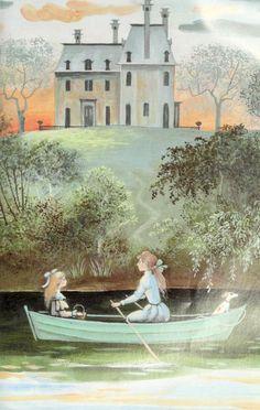 "Barbara Cooney «Eleanor» | ""Картинки и разговоры"" Chris Dunn, Barbara Cooney, Vintage Drawing, Children's Book Illustration, Faeries, Childrens Books, Illustrators, Fairy Tales, Drawings"